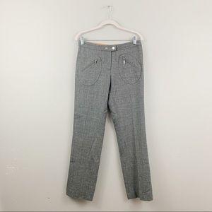 Tory Burch Gray Wool Trousers Pants